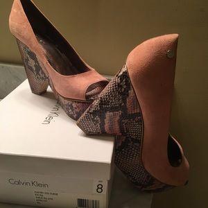 Calvin Klein wedge heel